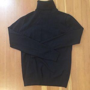 Merona black turtleneck sweater size XS